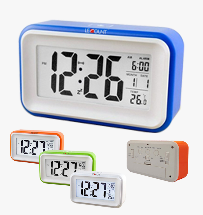 Le Count Voice Control Lcd Clock